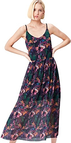 Granatowa sukienka find