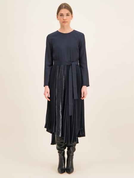 Granatowa sukienka Max & Co.