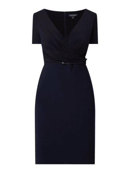 Granatowa sukienka Ralph Lauren mini