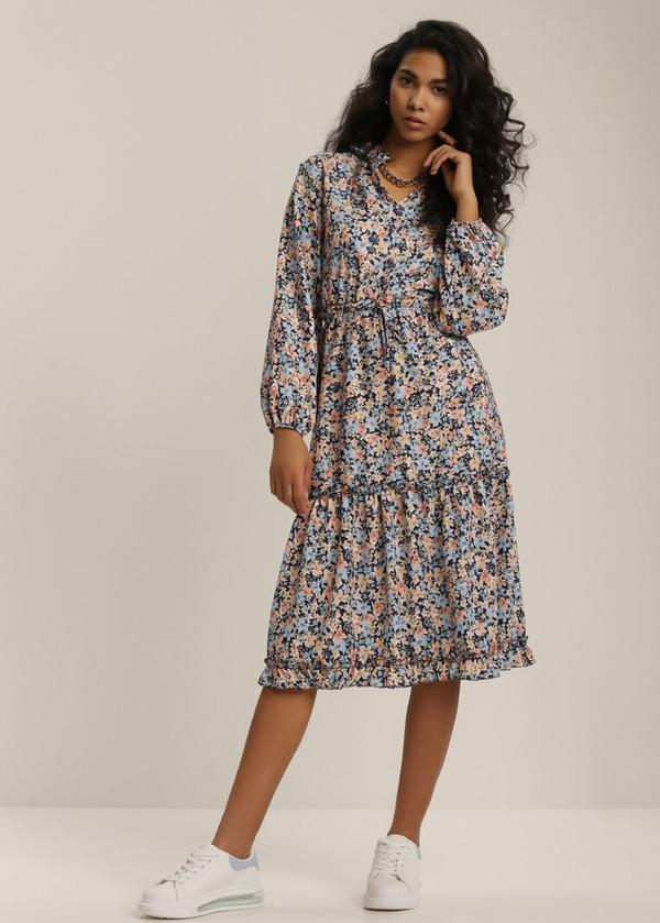 Granatowa sukienka Renee