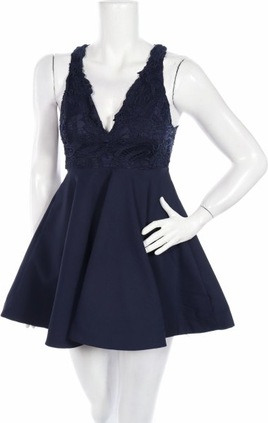 Granatowa sukienka Xenia
