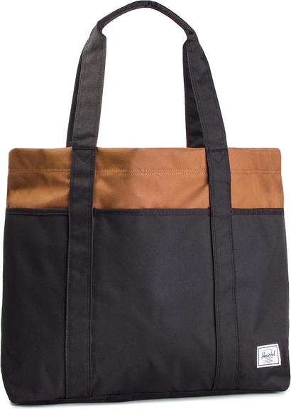 Granatowa torebka Herschel Supply Co. w sportowym stylu duża