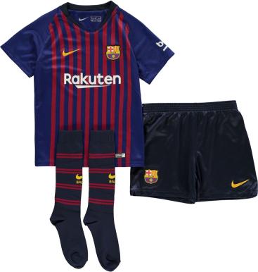Granatowe body niemowlęce Football Kit Launches