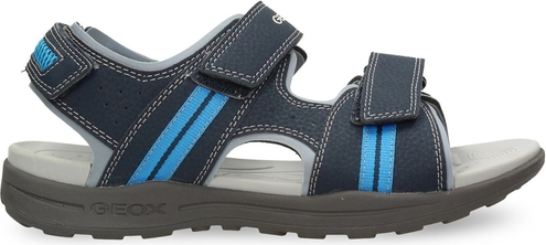 Granatowe buty dziecięce letnie Geox