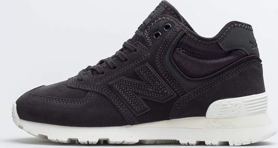 Granatowe buty sportowe New Balance 574 z płaską podeszwą