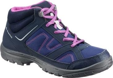 Granatowe buty trekkingowe dziecięce Quechua