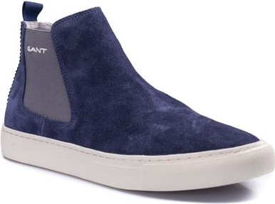 Granatowe buty zimowe Gant