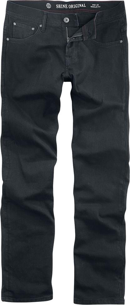 Granatowe jeansy Shine Original