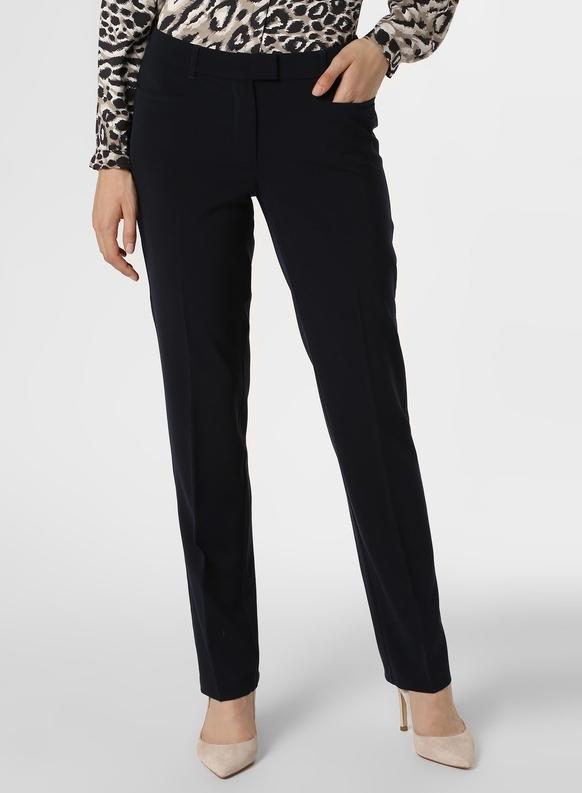 Granatowe spodnie Betty Barclay