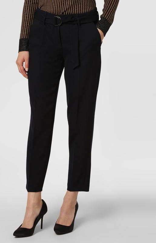Granatowe spodnie Cambio