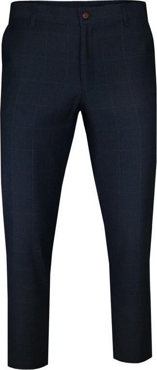 Granatowe spodnie Casino z wełny