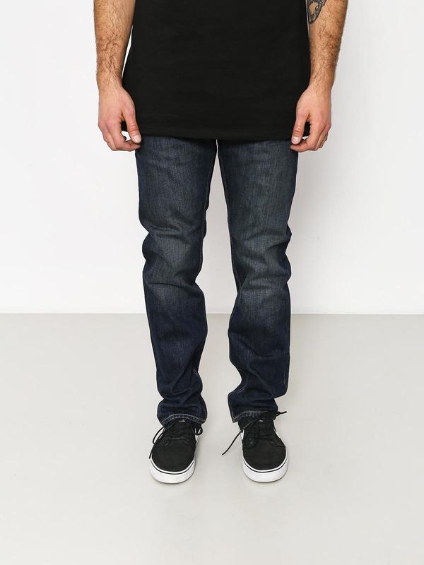 Granatowe spodnie Element z bawełny