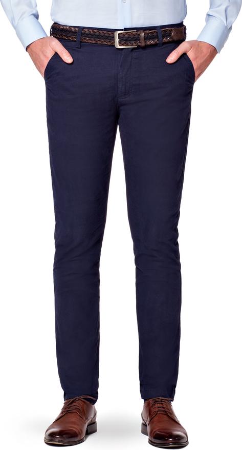 Granatowe spodnie LANCERTO