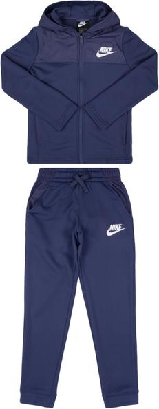 Granatowy dres Nike z dresówki