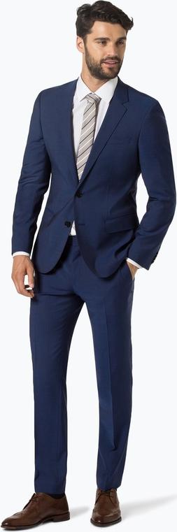Granatowy garnitur Hugo