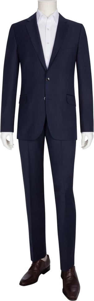 Granatowy garnitur Tom Rusborg