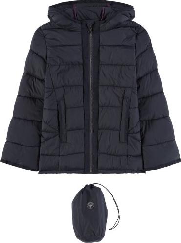 Granatowy płaszcz dziecięcy Marc O'Polo