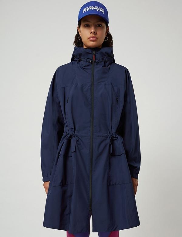 Granatowy płaszcz Napapijri