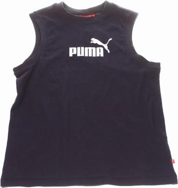Granatowy podkoszulek Puma
