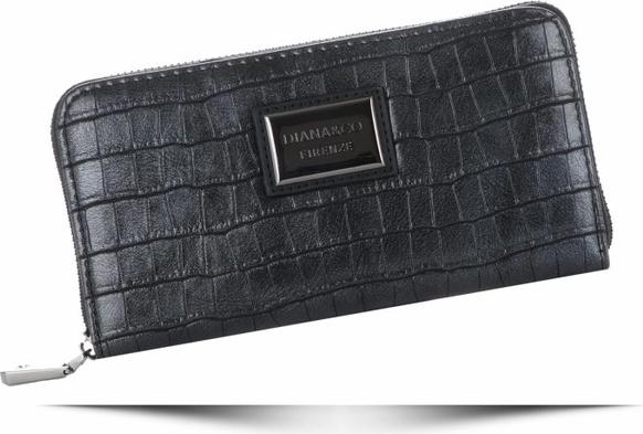 Granatowy portfel Diana&Co