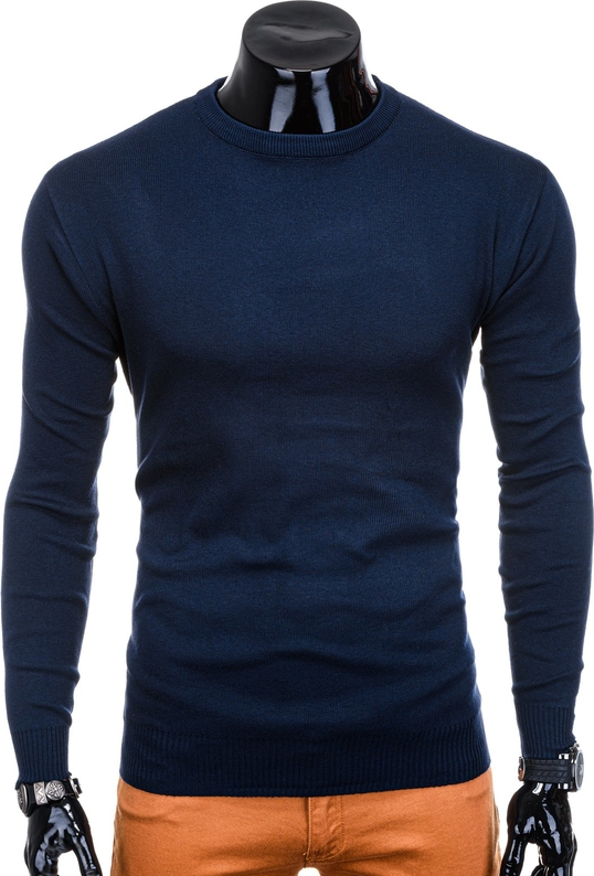 Granatowy sweter Edoti