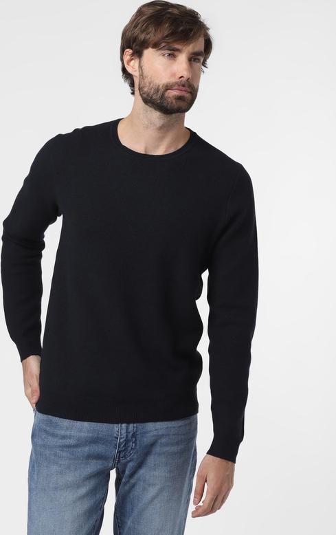 Granatowy sweter Finshley & Harding