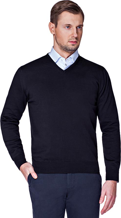Granatowy sweter LANCERTO