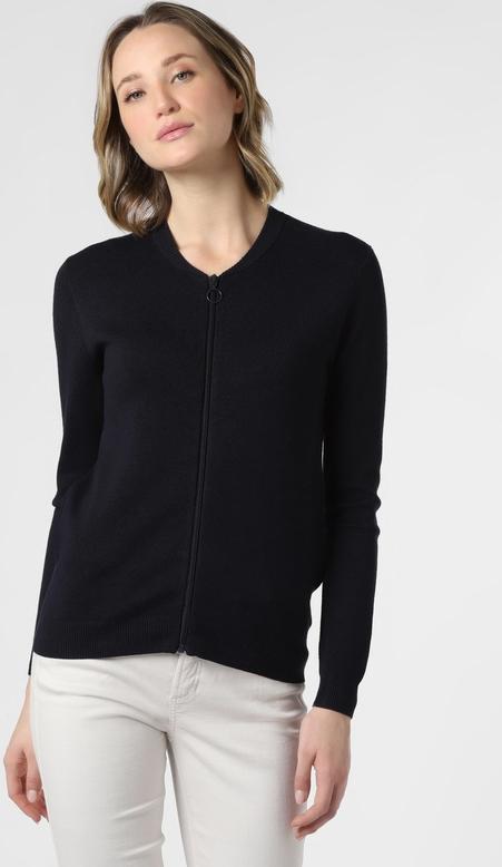 Granatowy sweter Marie Lund