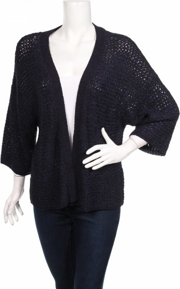 Granatowy sweter More & More
