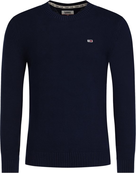 Granatowy sweter Tommy Jeans