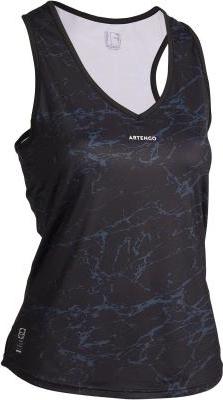 Granatowy t-shirt Artengo