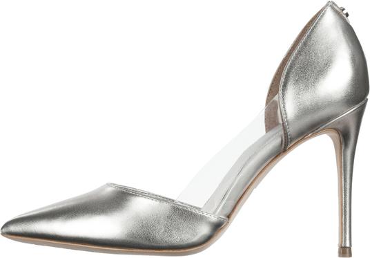 Guess bliss buty na obcasie 36 złoty srebrny
