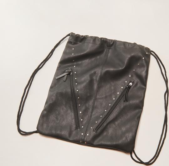 f1f48a63bb9d0 House - plecak worek z nitami - czarny
