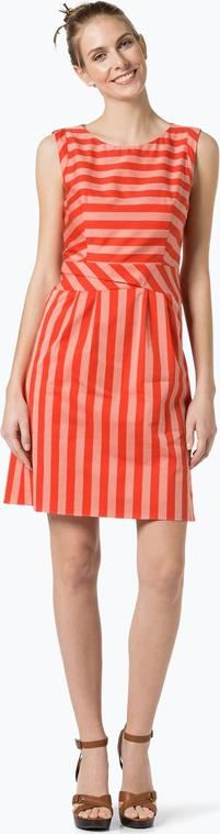 Hugo - sukienka damska – kaliles-4, czerwony
