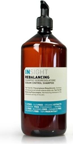 INSIGHT REBALANCING sebum control shampoo 900ml - szampon do włosów przetłuszczających się