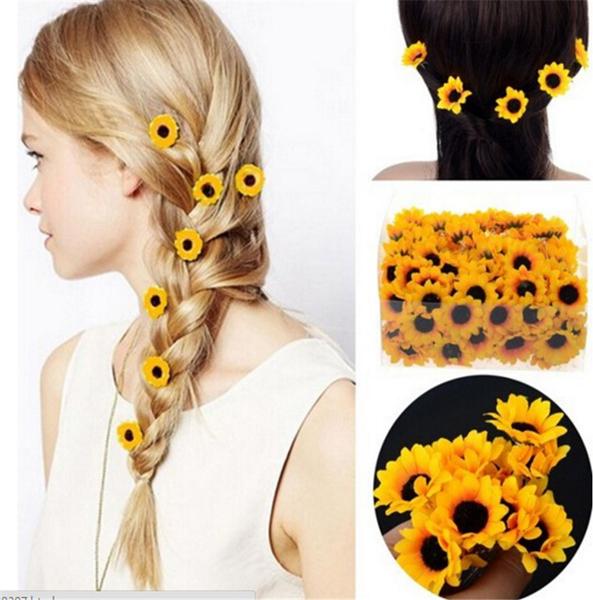 IZMAEL.eu Spinka do włosów Sunflower