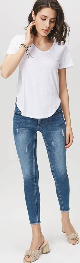 80% ZNIŻKI Niebieskie jeansy FEMESTAGE Eva Minge z jeansu