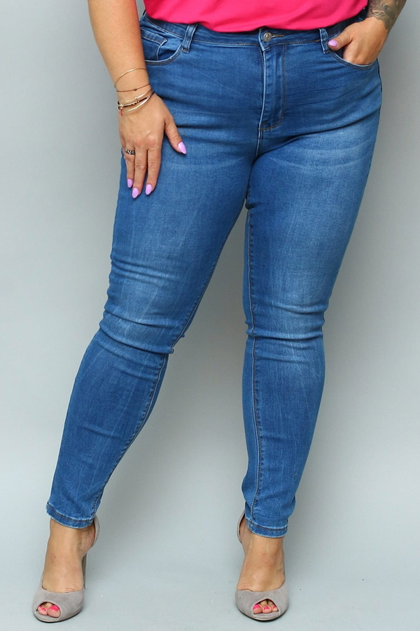 Jeansy KARKO z jeansu
