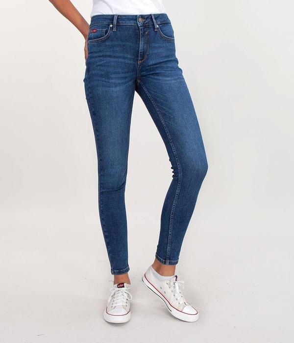 Jeansy Lee Cooper z tkaniny w stylu casual