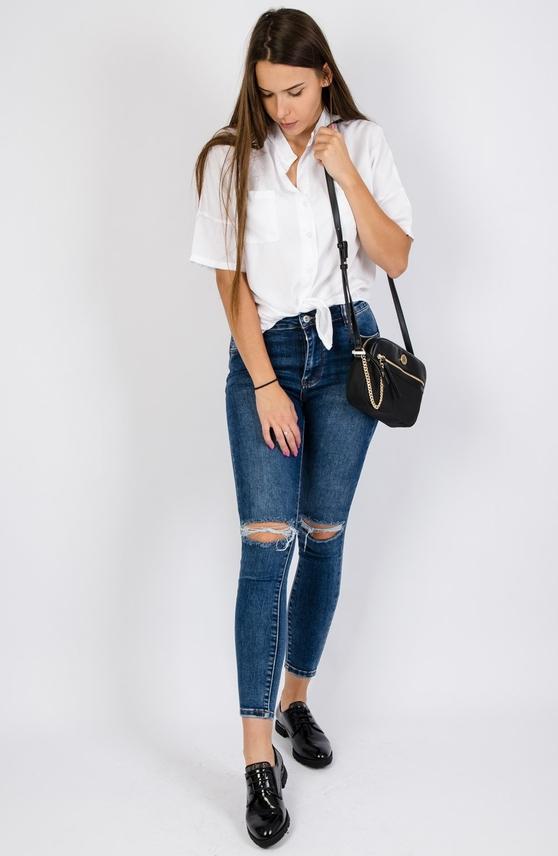 Jeansy Olika z jeansu