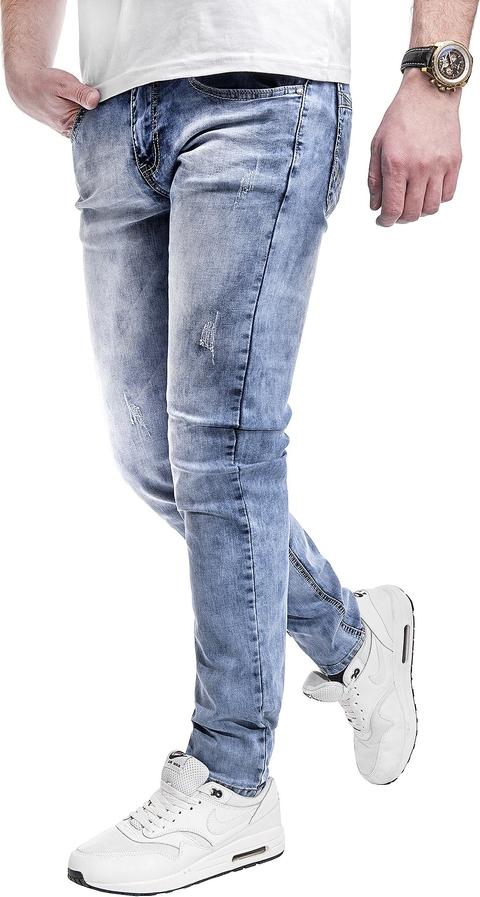 Jeansy Risardi z jeansu