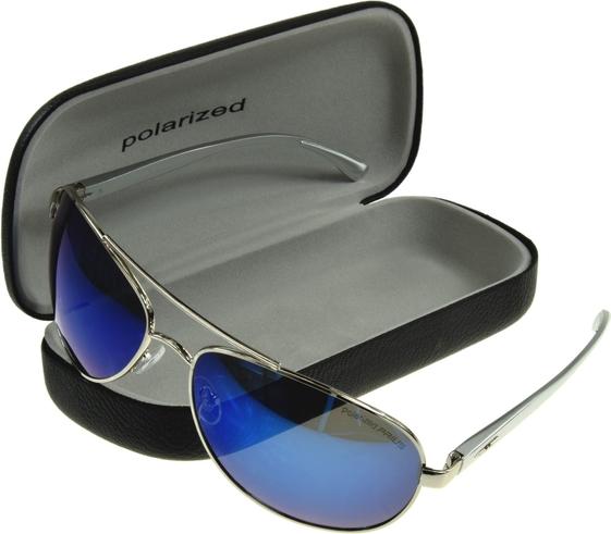 JK Collection Okulary polaryzacyjne pilotki UNISEX