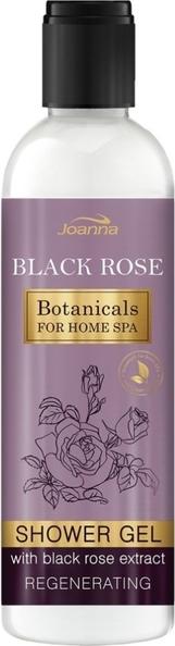 Joanna, Botanicals For Home Spa, kremowy żel pod prysznic z ekstraktem z czarnej róży, 240 ml