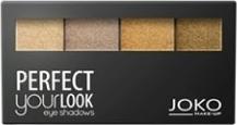Joko, Make-Up Perfect Your Look, cienie do powiek, quattro creamy, nr 402