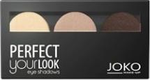 Joko, Make-Up Perfect Your Look, cienie do powiek, trio satin, nr 300