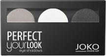 Joko, Make-Up Perfect Your Look, cienie do powiek, trio satin, nr 302