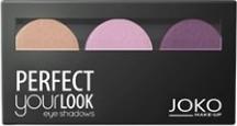 Joko, Make-Up Perfect Your Look, cienie do powiek, trio satin, nr 304