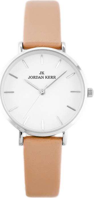 JORDAN KERR - L1008 (zj943a) beige/silver - Srebrny    Beżowy