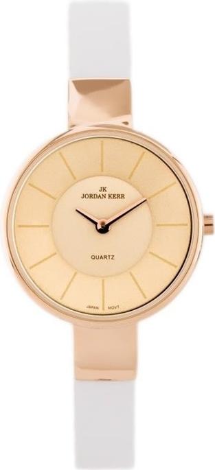 Jordan kerr - sona (jk099d) - biały || różowe złoto