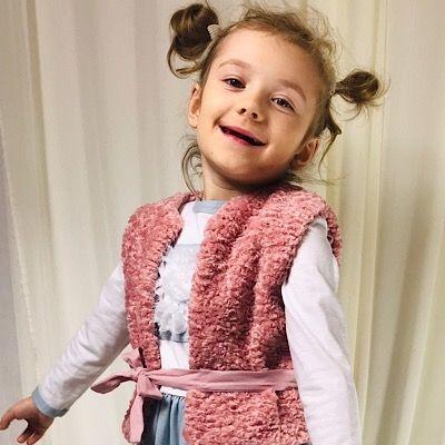 Kamizelka dziecięca Lovik Style For Kids